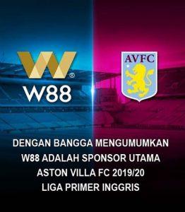 aston villa sponsor w88